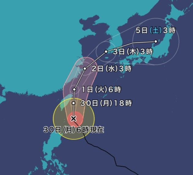 台風18号「ミートク」