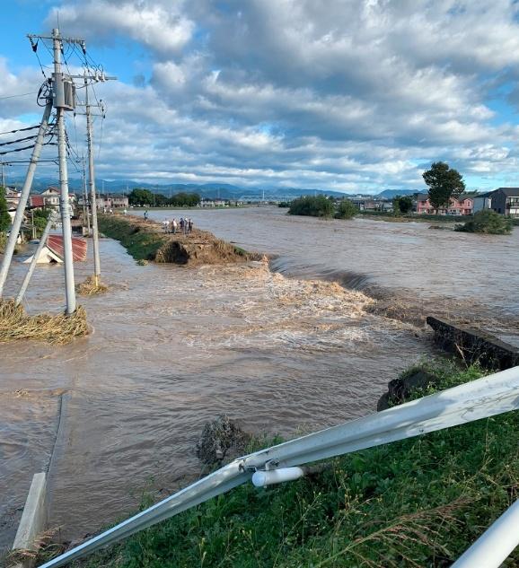秋山川氾濫