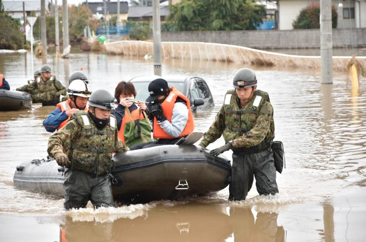 自衛隊の支援や救援活動