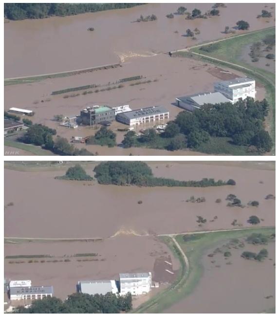 氾濫 川越