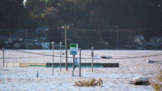 那珂川(なかがわ)氾濫