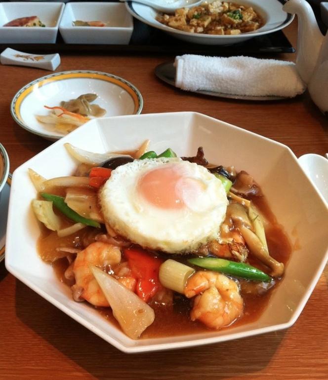 田村純子豪華な食事