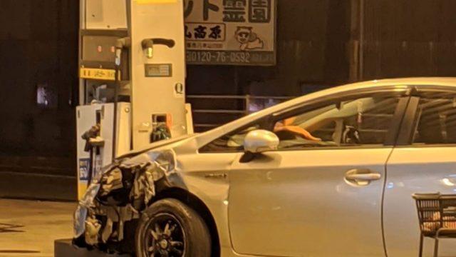 福岡県飯塚市のプリウス暴走事故の当て逃げ高齢者は誰?場所はどこ?