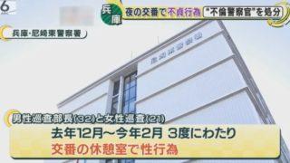 【顔画像】兵庫県警交番休憩室で本番(性行為)の警察官は誰で名前は?バレた理由は?